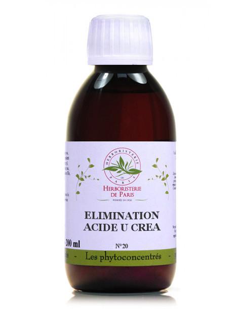Phyto concentré Élimination Acide U et Créa 200 ml Herboristerie de Paris