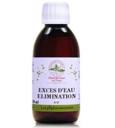 Phyto-concentré Excès d'Eau, Élimination 200 ml Herboristerie de Paris