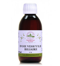 Phyto-concentré Foie Vésicule Biliaire 200 ml Herboristerie de Paris