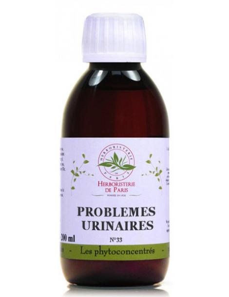 Phyto-concentré Problèmes Urinaires 200 ml Herboristerie de Paris, cranberry, busserole, bruyère