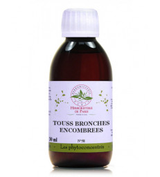 Phyto-concentré Touss Bronches Encombrées 200 ml Herboristerie de Paris