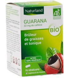Guarana bio 75 gélules végécaps Naturland