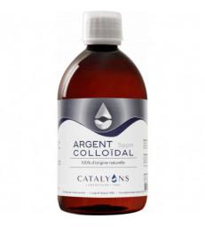 Oligo element ARGENT colloidal 5 PPM Catalyons 500 ml
