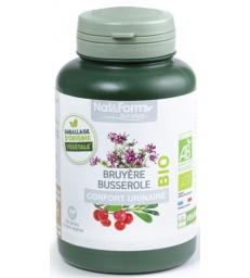 Complexe Bruyère Busserole 200 gélules Nat et Form