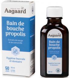 Bain de Bouche à la Propolis 50 ml Aagaard
