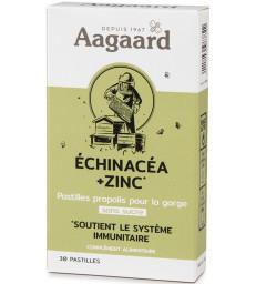 Propolentum   Echinacea   Zinc 30 pastilles sous blister Aagaard