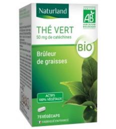 Thé vert bio 75 Gélules Végécaps Naturland