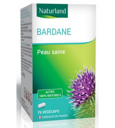 Bardane 75 gélules vegecaps Naturland