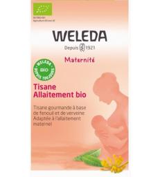 Tisane allaitement bio 20 sachets Weleda