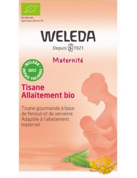 Tisane allaitement bio 20 sachets Weleda lactation maux de vente Herboristerie de paris