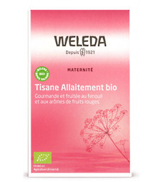 Tisane allaitement Fruits rouges 20 sachets Weleda