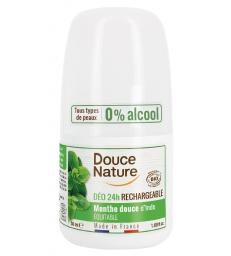 Déodorant à billes peaux normales Menthe 24H 50ml Douce Nature