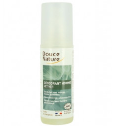 Spray Déodorant Homme au Vétiver Bio 125ml Douce Nature