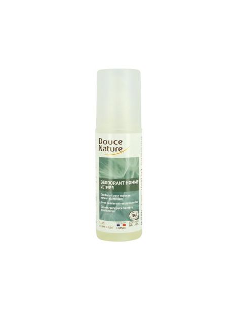 Spray Déodorant Homme au Vétiver Bio 125ml Douce Nature