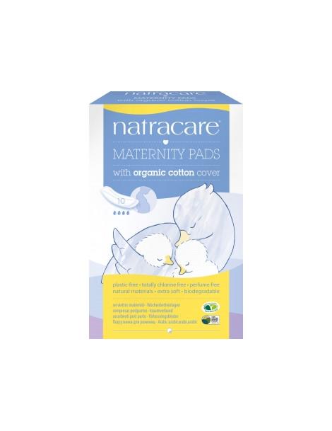 10 serviettes Post maternité Natracare