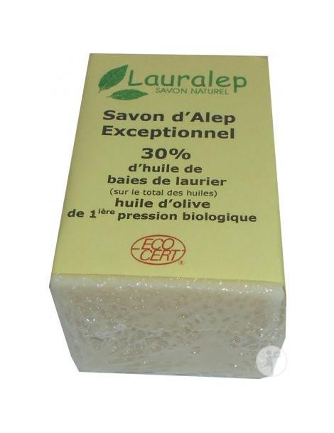 Savon d'Alep Exceptionnel 30% huile de Laurier 150g Lauralep
