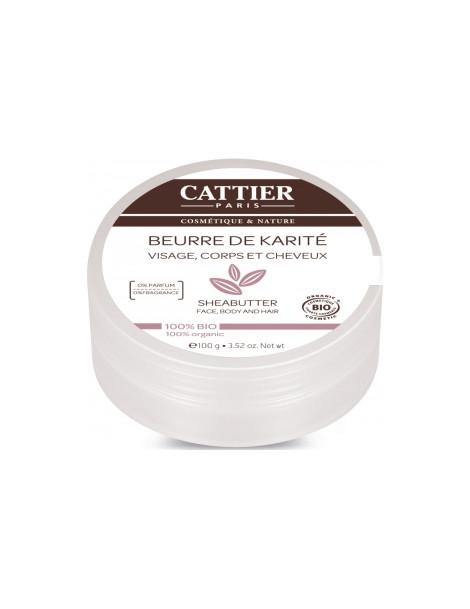 Beurre de karité 100g Cattier