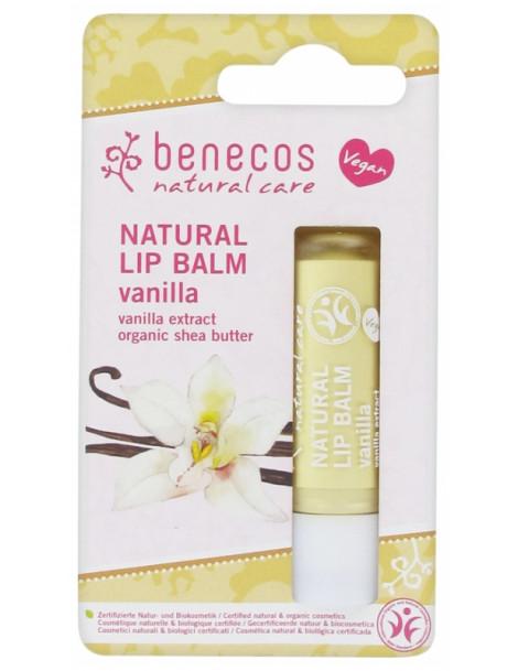Baume à lèvres Vanille 4g Benecos