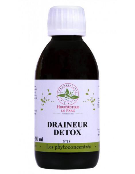 Phyto-concentré Draineur Détox 200 ml Herboristerie de Paris - draineur -detox - depuratif