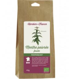 Menthe Poivrée feuilles BIO 40g Herbier De France