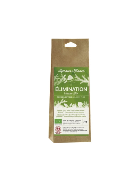 Ondine infusion Elimination sachet BIO 35g Herbier De France