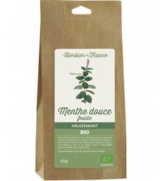 Menthe Douce Feuilles BIO 40g Herbier De France