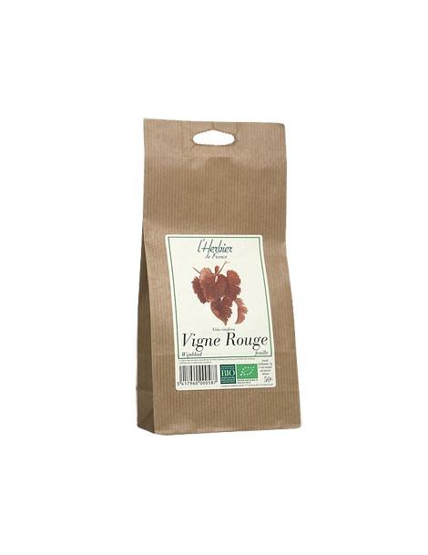 Vigne rouge sachet BIO 50g Herbier De France