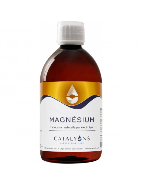 Magnésium ionisé 500 ml Catalyons