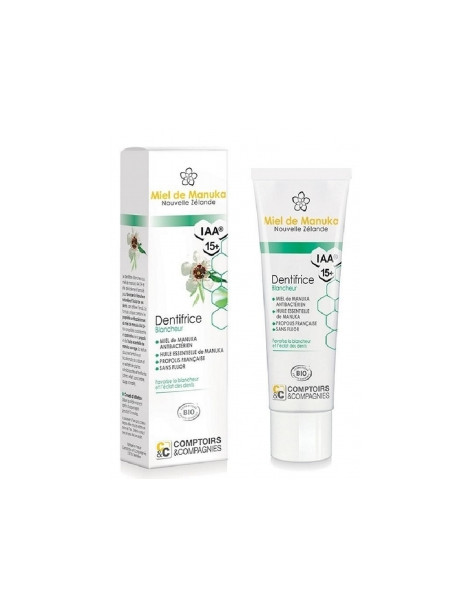 Dentifrice Manuka Blancheur 75ml Comptoirs Et Compagnies