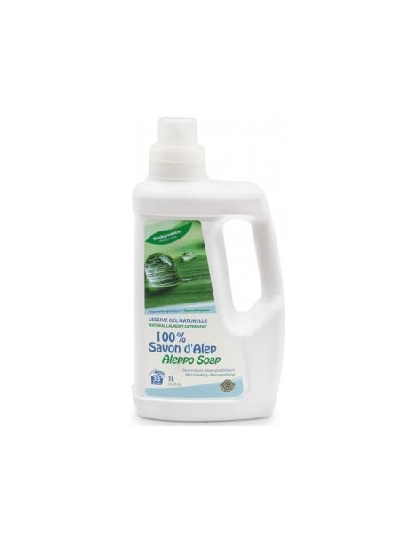 Lessive liquide gel Ultra Concentrée 100% Savon d'Alep 1L Alepia