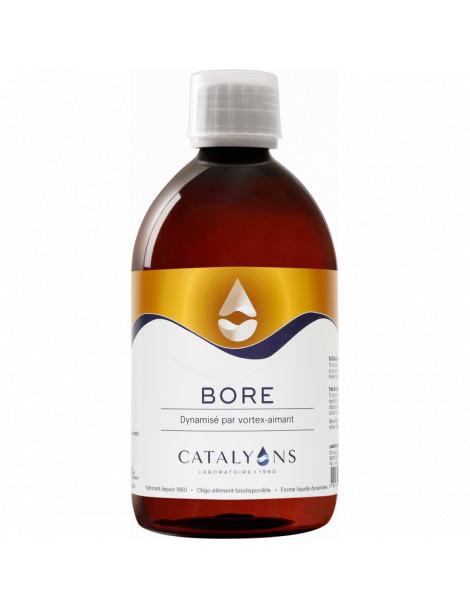 Bore ionisé 500 ml Catalyons équilibre de l'os Herboristerie de paris