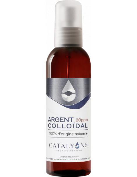 Oligo élément ARGENT colloïdal 20 ppm Catalyons Spray pulvérisateur 150ml Catalyons