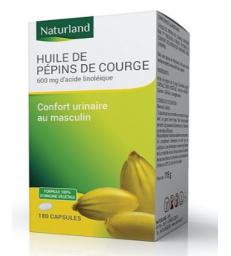 Huile de Pépin de courge bio 90 capsules Naturland