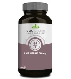 L Ornithine 60 gélules végétales 500mg Equi - Nutri