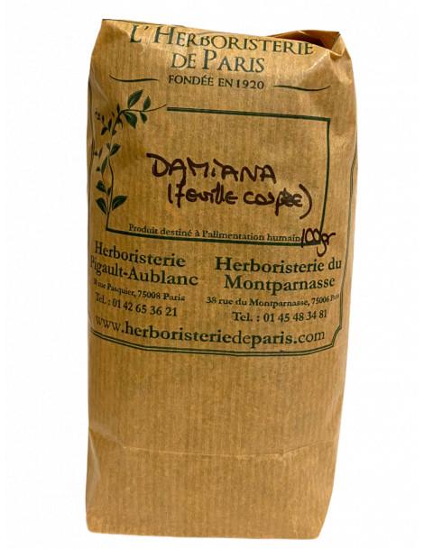 Damiana feuille 100 gr Herboristerie de Paris