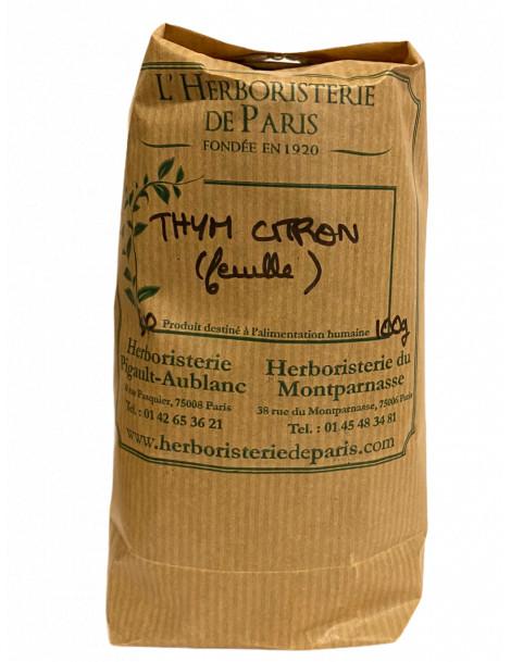 Thym citronné BIO 100 gr Herboristerie de paris