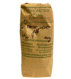 Maté Vert fine feuille bio 100 gr Herboristerie de Paris