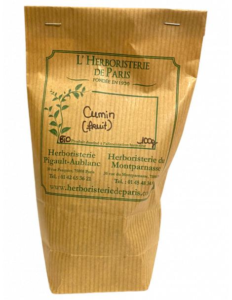 CUMIN SEMENCE BIO 100 gr Herboristerie de Paris