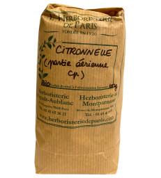 Citronnelle partie aérienne bio 100 gr Herboristerie de Paris