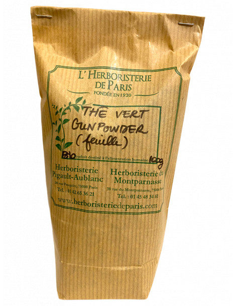 Thé Vert BIO 100 gr Herboristerie de Paris
