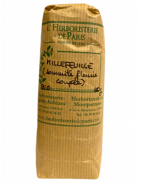 Millefeuille sommité fleurie 100g Herboristerie de Paris
