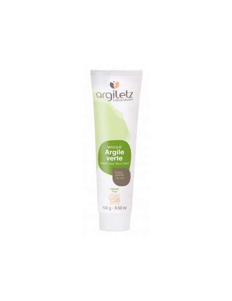 Masque argile verte prête à l'emploi 100gr Argiletz
