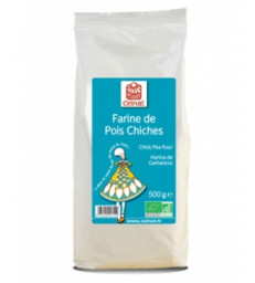 Farine de Pois Chiches 500g Celnat