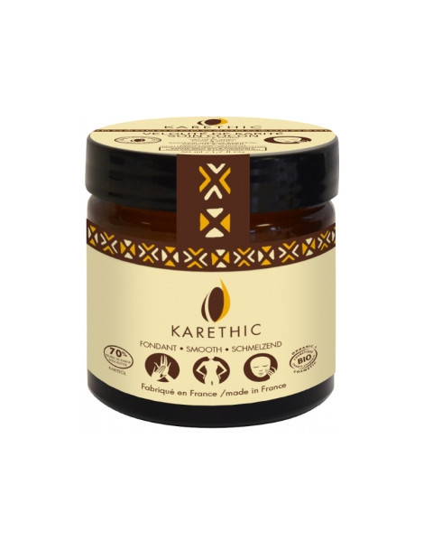 Velouté de Karité 70% Beurre de Karité parfumé à la Mangue fraîche 50ml Karethic