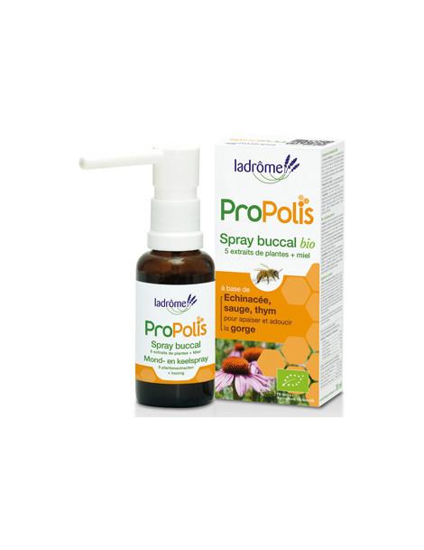 Spray buccal Propolis + sauge 30ml Ladrome