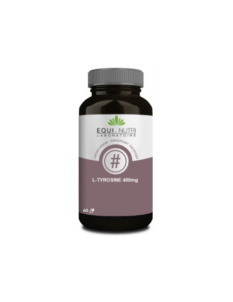 L Tyrosine 400 60 gélules végétales Equi - Nutri