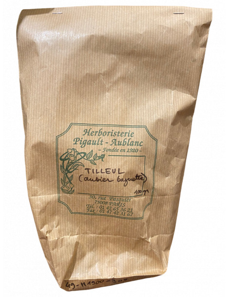 Aubier de Tilleul baguette bio 100 gr Herboristerie de Paris