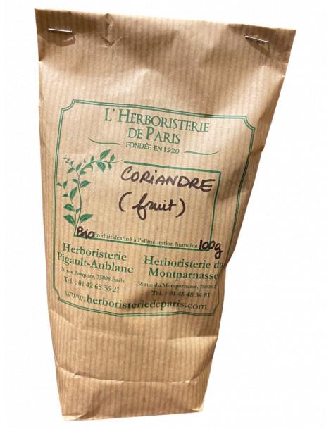 CORIANDRE SEMENCE BIO 100g HERBORISTERIE DE PARIS