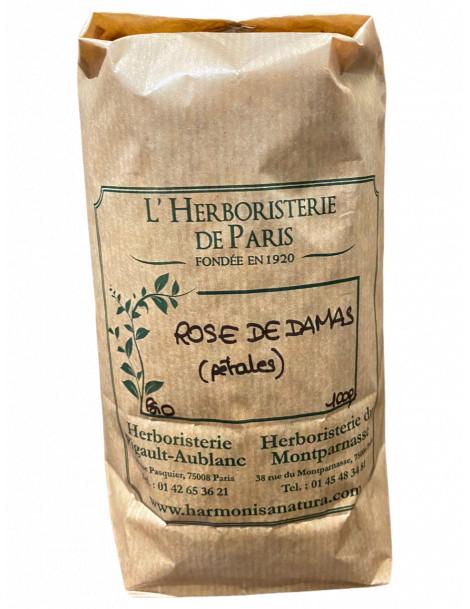 ROSE DE DAMAS PÉTALES BIO 100G HERBORISTERIE DE PARIS