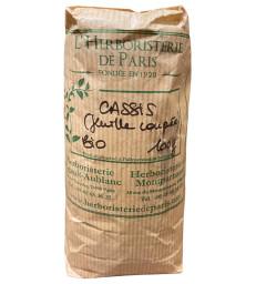 Cassis feuille coupée BIO 100 gr Herboristerie de Paris